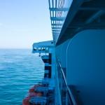Seite des Schiffs